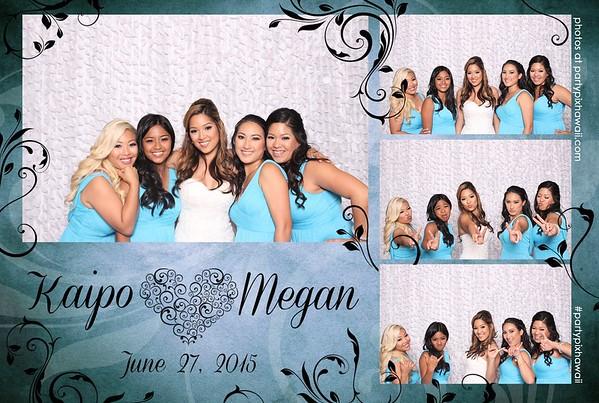 Megan & Kaipo's Wedding (Mini Open Air Photo Booth)