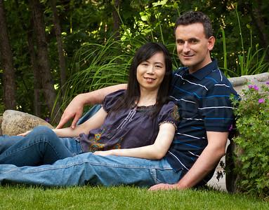 Lilian Chen & Rob Richards - Engagement Portrait