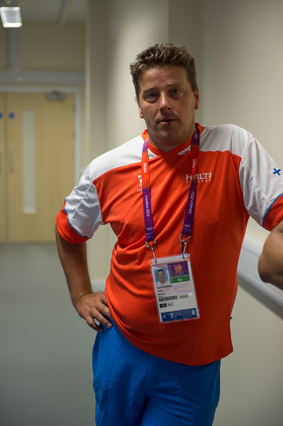 Uintivalmentaja Tomi Pystynen__27.07.2012_London Olympics_Photographer: Christian Valtanen_London_Olympics_Uintivalmentaja Tomi Pystynen_27.07.2012_DSC_7151_coach, Tomi Pystynen, valmentaja