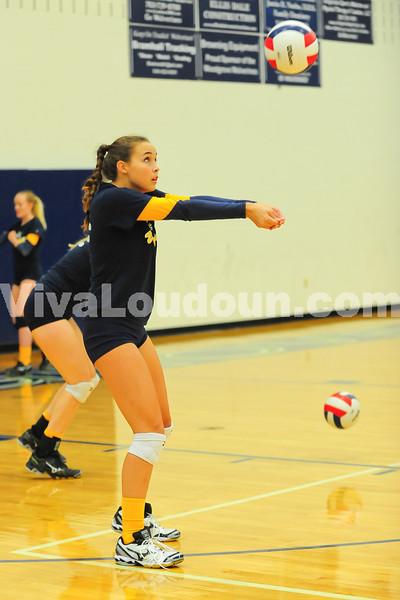 Varsity Volleyball: Loudoun County at Woodgrove Volleyball (9-11-2013 by Jeff Vennitti)