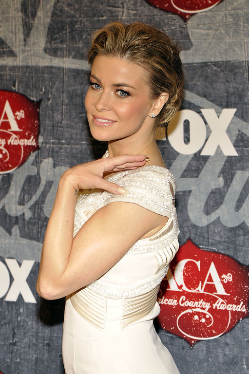 . Model Carmen Electra arrives at the American Country Awards on Monday, Dec. 10, 2012, in Las Vegas. (Photo by Jeff Bottari/Invision/AP)