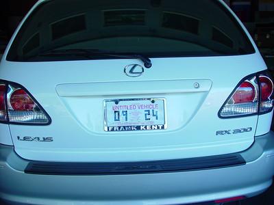 Zach's 2001 Lexus