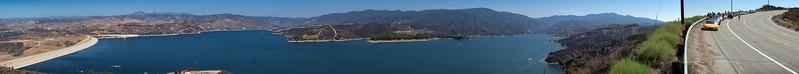 Castaic Lake NSX Panorama (Photomerged)
