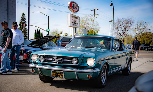 2019.04.07 - A&W Lodi - Mustang Owners Museum