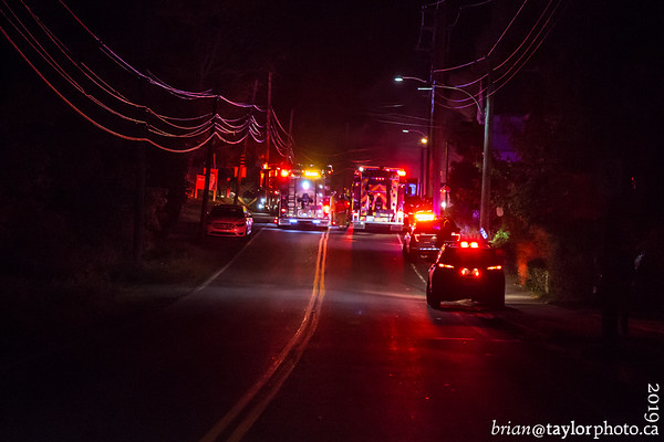 Multiple Structure Fires, Canning, Nova Scotia, Sunday Oct. 6, 2019.