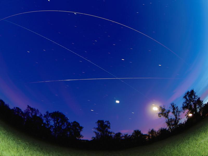 ISS triple flyby