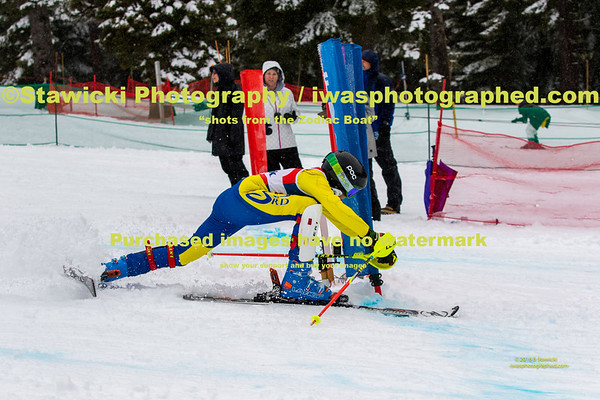MHYSL Cooper Dual Slalom. 2nd Run images Blue Course. 2017.02.05.  1131 images.