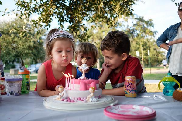 Cerie's 4th Birthday