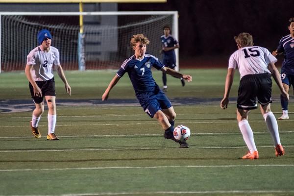 2018 Boys Varsity Soccer vs. St. Helens