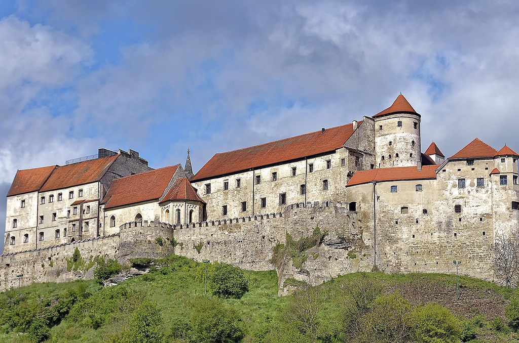 Burghausen Castle in Germany