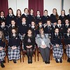Our Lady's GS GCSE Prizegiving. Pictured are students who achieved First place in Subjects with Ms Geraldine Pettigrew and Mrs Fiona McAlinden. R1648007