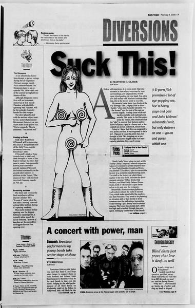 Daily Trojan, Vol. 139, No. 19, February 08, 2000