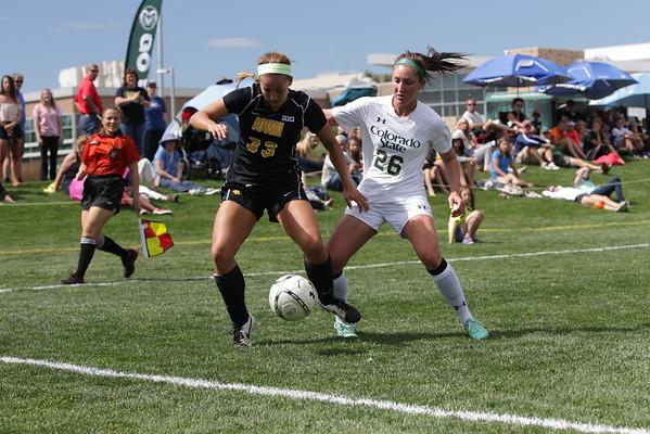 CSU vs. Iowa Soccer 2014