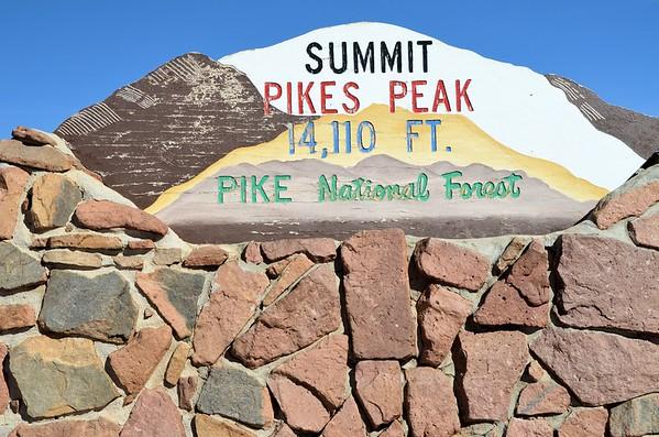 Pikes Peak, Colorado Springs (October 2014)