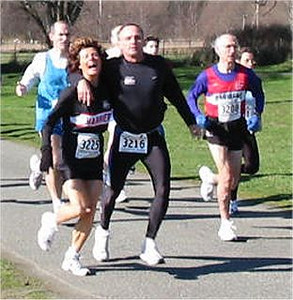 2003 Hatley Castle 8K - Bill and Laura ham it up - Maurice is all business
