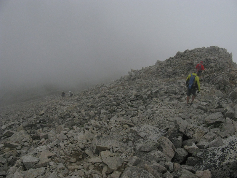 That's us - no one else was near while we were on the summit.