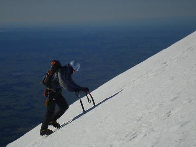 Climbing Mt Taranaki, September 5-6 2009