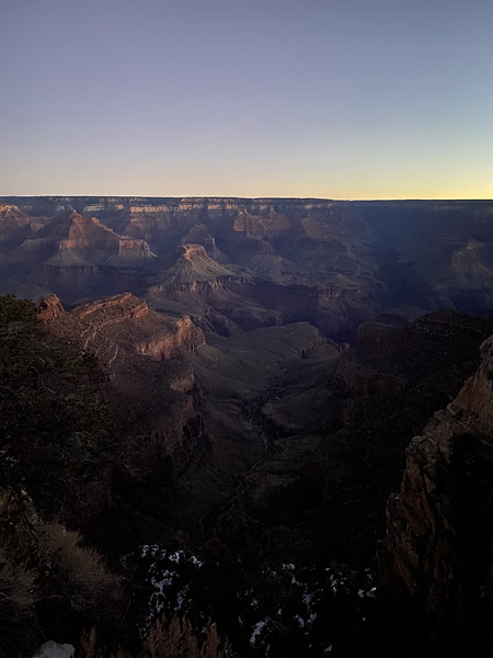 February-Grand Canyon