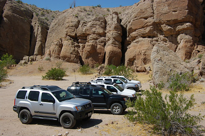 Buttes Pass Area - Anza Borrego - April 30, 2011