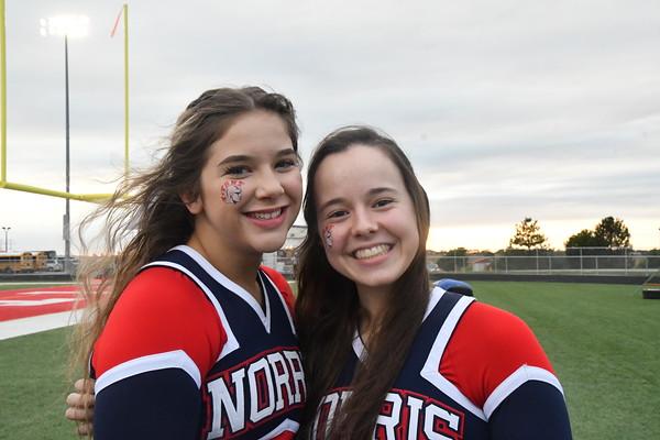 Cheer at Varsity Football vs Waverly