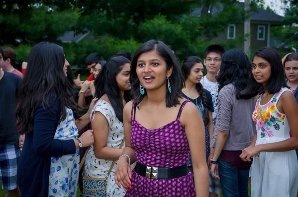 Nikitha's Graduation Party