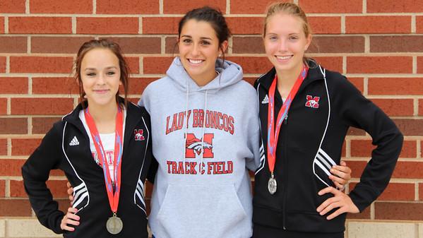 Mustang Girls Track State Championship