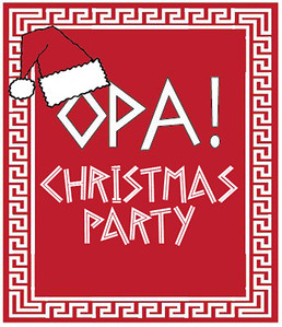 Opa! Christmas Party