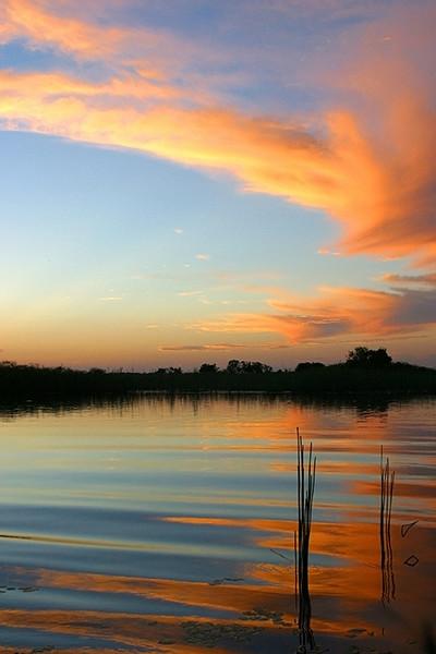 Sunset 3, Okanvango Delta Botswana