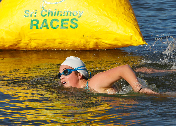 Sri Chinmoy Lake Swims, Sunday 24 February 2019 – 5km, 2.5km & 500m