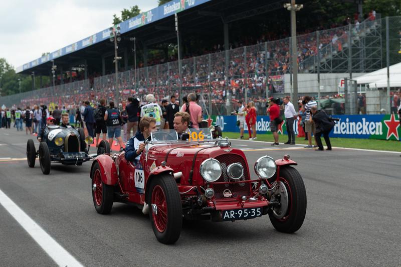 Formula 1 - Pre Gara