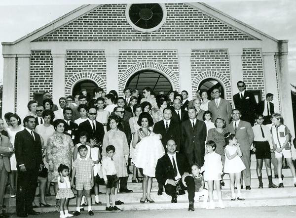Baptizado da Janeca Amaral 31-5-69