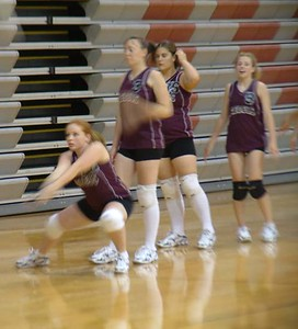 SNHS Volleyball vs Caston 2004
