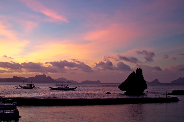 El Nido through the Day