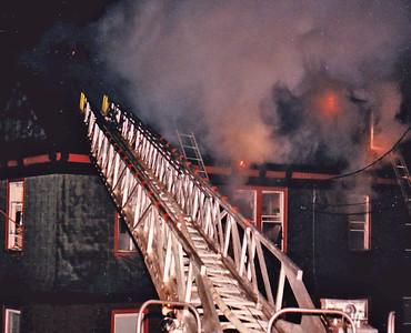 Newton, MA 1/15/1986 House Fire
