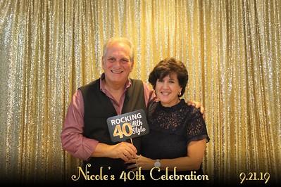 Nicole's 40th Birthday Celebration
