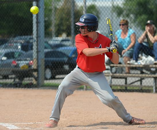 Softball and Baseball at the Ontario Summer Games 2014 in Windsor