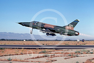"""U.S. Air Force Republic F-105 Thunderchief MiG Killer Airplane Pictures [NOTE: A """"MiG Killer"""" is a US Armed Forces Airplane With """"Kill Markings"""" That A Pilot Used to Shoot Down an Enemy Airplane.]"""