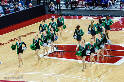 HS Sports - JMM Poms at State - March 17, 2017