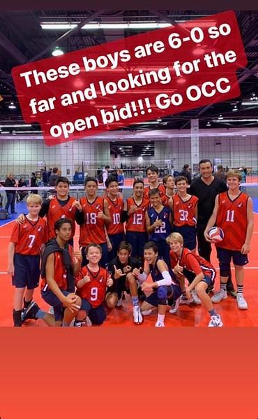 2019 OCC Volleyball