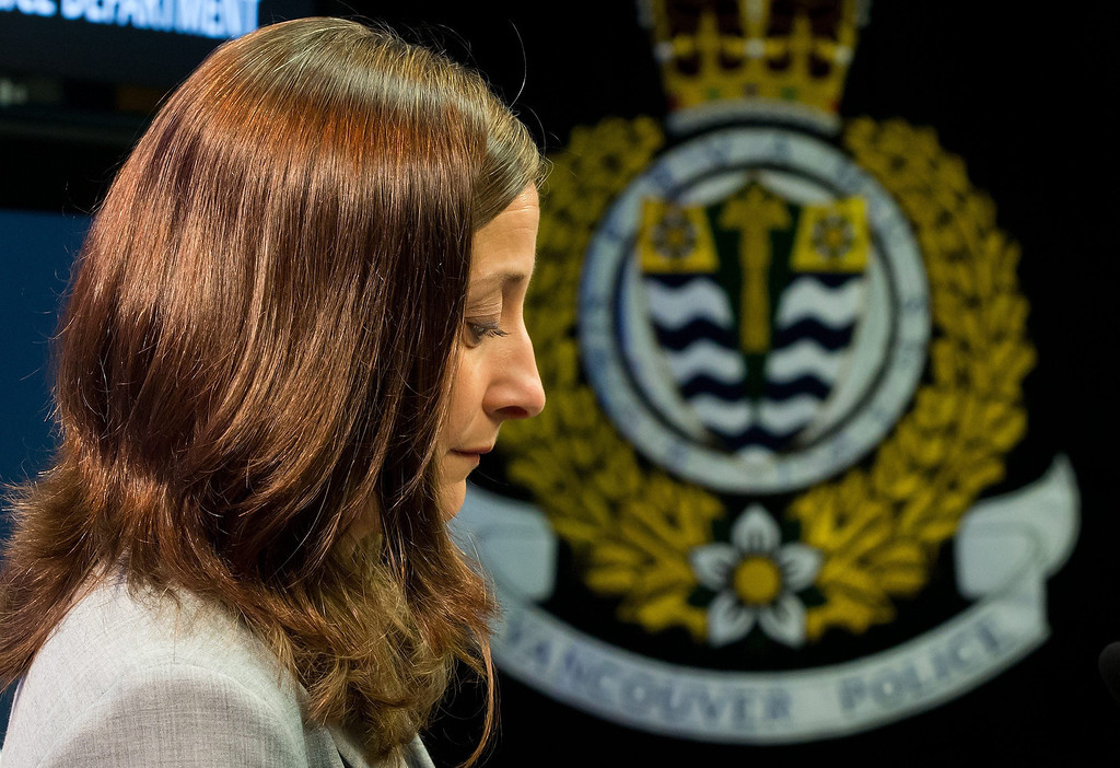 ". British Columbia Chief Coroner Lisa Lapointe pauses after speaking about the death of Canadian actor Corey Monteith during a news conference in Vancouver, British Columbia. Monteith, the actor who shot to fame in the hit TV series ""Glee\"" but was beset by addiction struggles so fierce that he once said he was lucky to be alive, was found dead in his hotel room, police said. He was 31. (AP Photo/The Canadian Press, Darryl Dyck)"