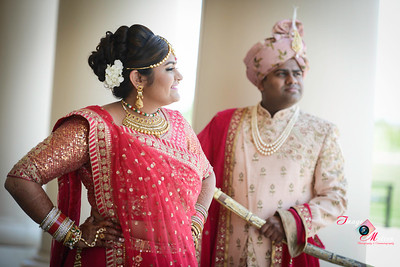 ROSHNI AND BHAVESH WEDDING 1