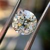 4.11ct Antique Cushion Cut Diamond, GIA N VS1 12