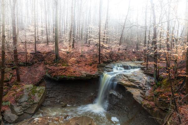 Blue Hen waterfall
