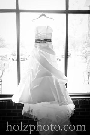 Chanda & Brent B/W Wedding Photos