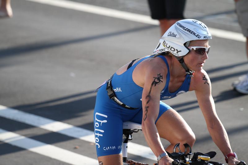 Yvonne Van Vlerken - Finished 7th.