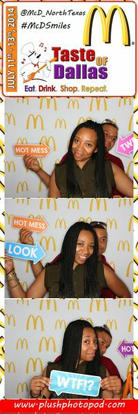 McDonald's Taste of Dallas 2014