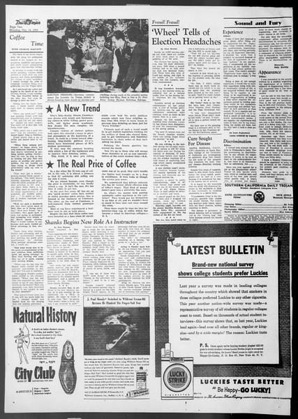 Daily Trojan, Vol. 45, No. 16, October 12, 1953