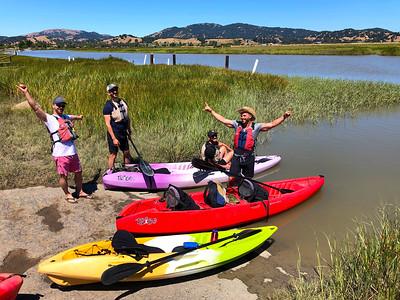 San Rafael Kayaking: Jul 13, 2019
