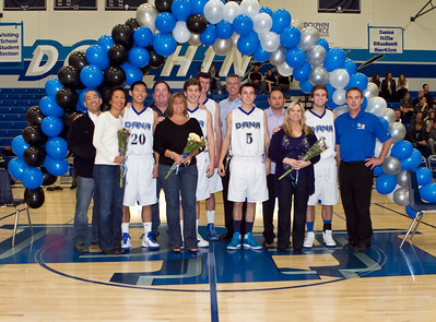 2012 Dana Hills Basketball Senior Nights