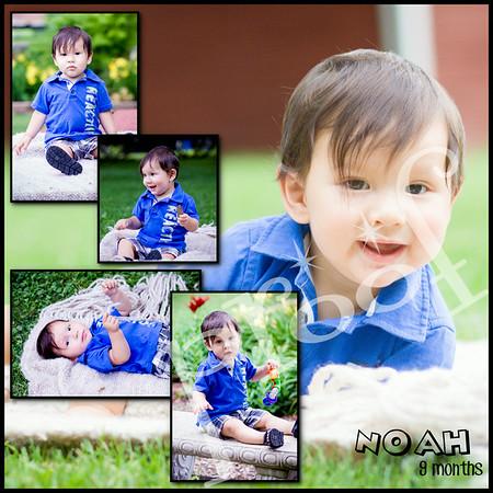 Noah 9 months
